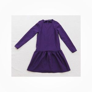 ASOS Women's Purple Peplum Style Dress Sz 2